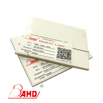 1mm 2mm 3mm Thin Thick Plastic ABS Sheet