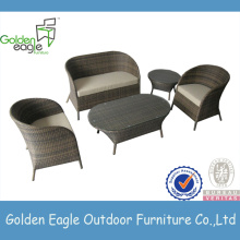 Round Outdoor Furniture Rattan Sofa