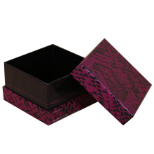 Purple Snakeskin Grain Gift Packaging Box