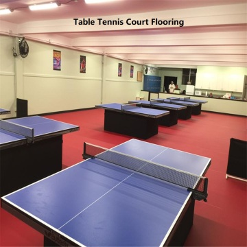 Indoor pvc floor for table tennis