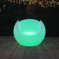 Plastic Bar LED Furniture Sectional Sofas Lighting