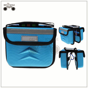 bicycle top frame bag with rain cover bike double pannier for sale