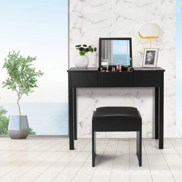 Wooden Girls Dressing Table Dressing Table Black
