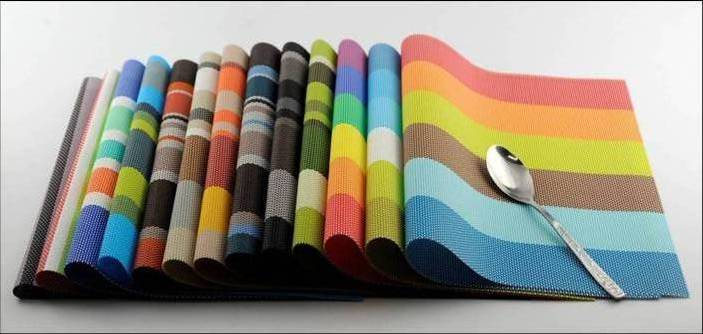 Stripe series of household business dining mat decoration14