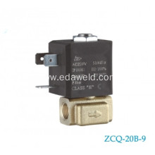 20 Years Factory for Europe Type Tube Connector Valve Mig Welding Machines Solenoid Valve supply to American Samoa Manufacturer