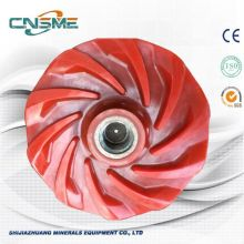 Mining slurry pump spare parts polyurethane Impeller