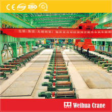 Overhead Crane for Steel Pipe Handling