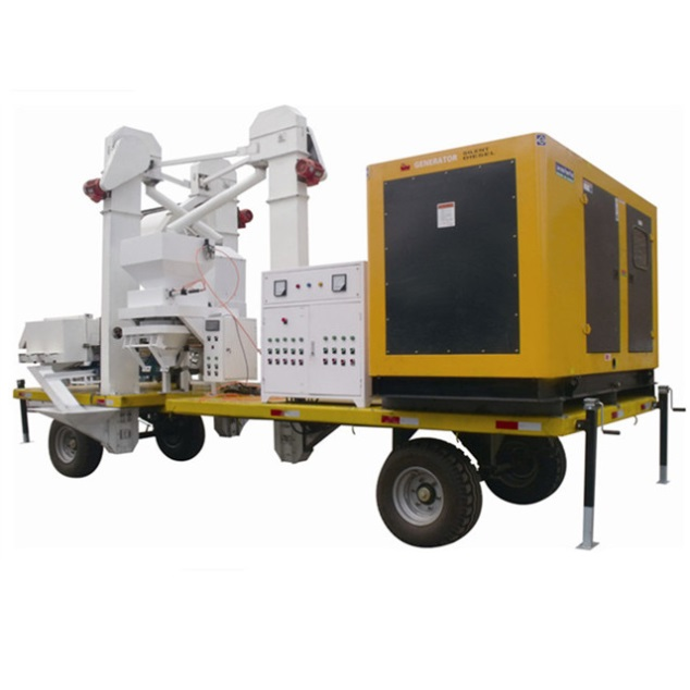 moible grain cleaning plant