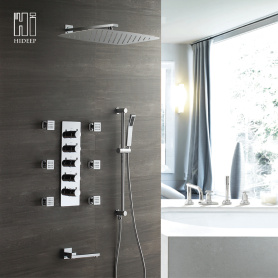 High Quality Brass Thermostatic shower Faucet  set