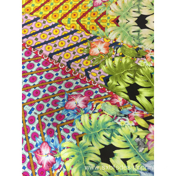 Rayon Challis 30S Light Printing Woven Fabric