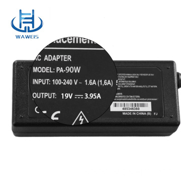 Good quality laptop charger adapter 19v 3.95a