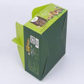 Custom Recycled Lunch Food Paper Box Snack Packaging