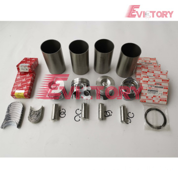 ISUZU 4G64 rebuild overhaul kit gasket bearing piston