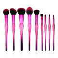 9PC Ombre Make up Brush Set