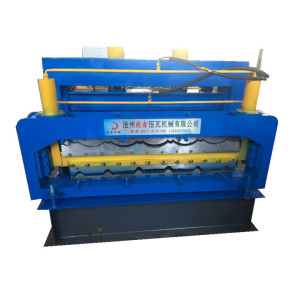 DX glazed ibr broaden sheets roll forming machine