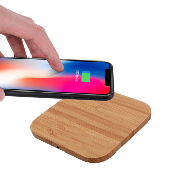 Qi Fast Charging Wood Wireless Charger