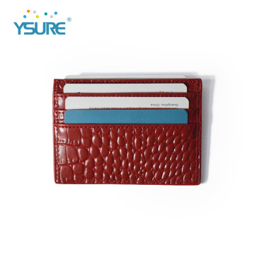 Best Price Pu Leather ID Credit Card Holder