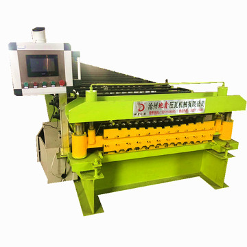Aluminum double Roofing ibr Sheet Roll Forming Machines