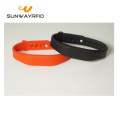 Custom Waterproof NFC Bracelet rfid Tag Silicone Wristband