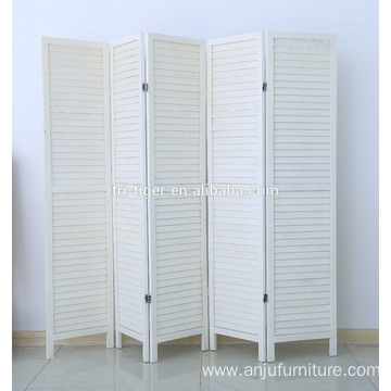 Indoor Home Decoration Wood Partition Screens Cheap Foldable Room Divider