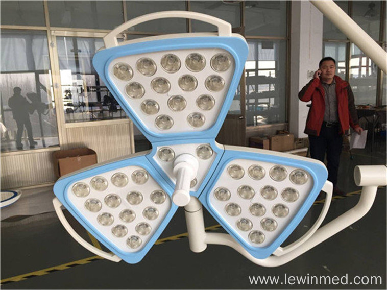 Single dome flower OT lamp
