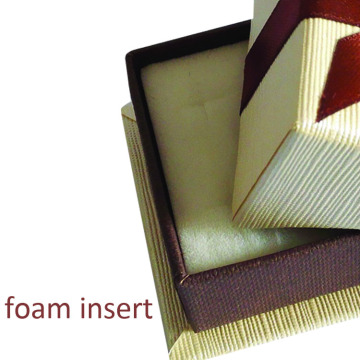 New design handicraft jewelry box with velvet