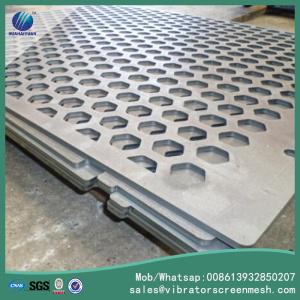 High Carbon Steel Perforated Metal