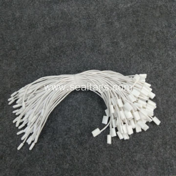 High Quality White Waxing cord Tags for Garments