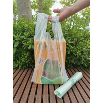 Corn Starch Based Biodegradable Plastic Carry Bags