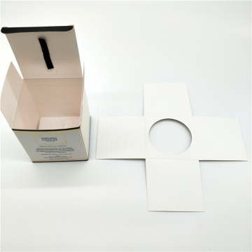 Wholesale Square Kraft Paper Box for Candle