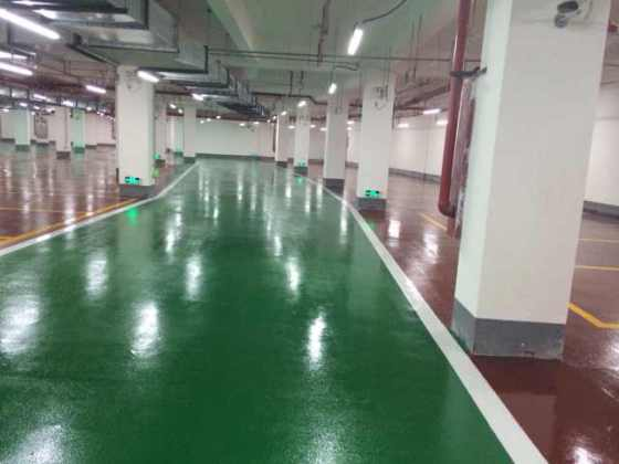 Garage Silent Beads Wear Resistant Epoxy Flat Coating