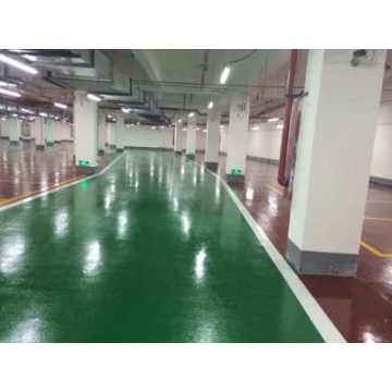 Garage Silent Beads Wear-resistant Epoxy Flat Coating