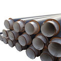 Polyurethane Foam Filled Heat Thermal Insulation Steel Pipe