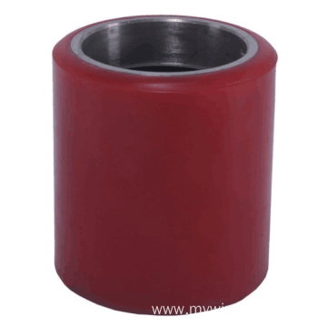 80*70mm Iron Core Pu Tread Forklift wheel