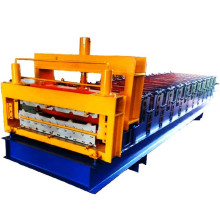 30 45 galvanized double layer roll forming machine