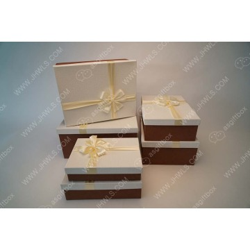 Highlight value Custom Golden clothing shoe box