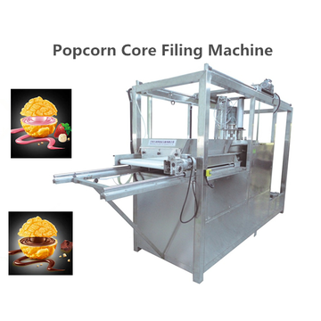 core filling and coating popcorn making machine
