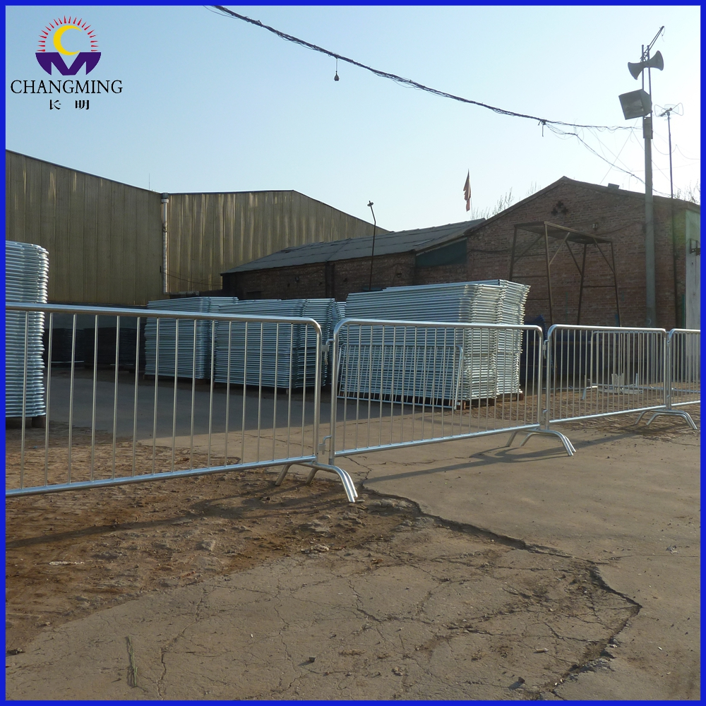Road Barricade Fence