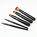 Unique classical black professional makeup brush set