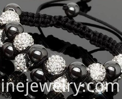 Crystal Beads Shamballa Bracelets Wholesale