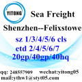 Shenzhen Sea Freight Shipping Services to Felixstowe