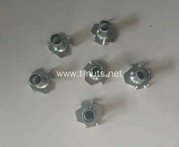 Carbon steel galvanized Insert Tee Nuts