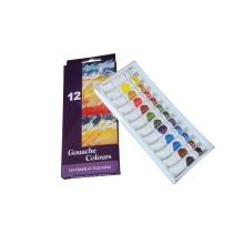 Gouache students Gouache paint 12 colors