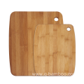Rectangle bamboo chopping board with hole