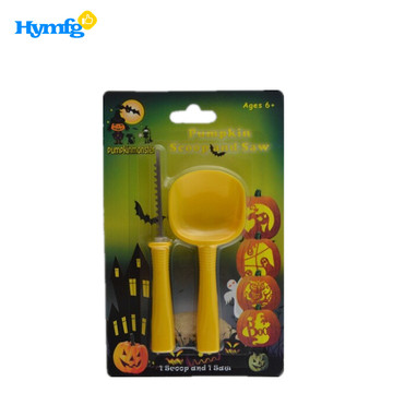 2pcs Kids Halloween Pumpkin Carving Kits
