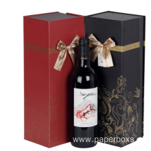 Wholesale price stable quality for Custom Wine Paper Box Luxury Magnetic Seal Wine Packaging Box supply to Sao Tome and Principe Suppliers