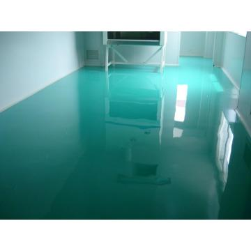 Clean room oily epoxy mortar floor paint
