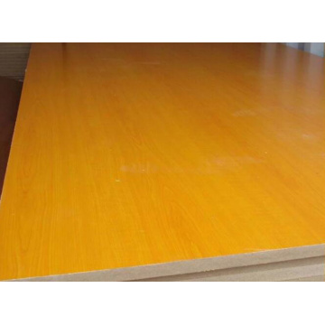 HDF/MDF E1 E2 Melamine Faced Laminate Pressing