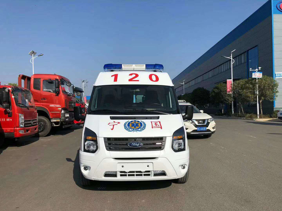 mobile epidemic control ambulance factory