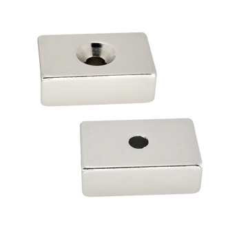 Rectangle Type Countersunk Hole Magnet